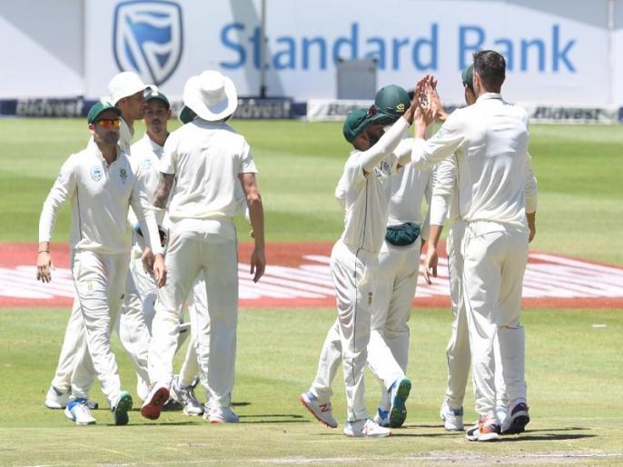 South Africa takes 212 runs lead vs Pakistan in 3rd test in Johannesburg, Duanne Olivier shines | SA vs PAK: ओलिवर के कहर से पाकिस्तान 185 पर सिमटा, तीसरे टेस्ट में दक्षिण अफ्रीका मजबूत स्थिति में