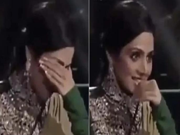 When sridevi shocking reaction on amitabh bachchan kbc question video goes viral | जब अमिताभ बच्चन का सवाल सुन सिर पकड़कर बैठ गई थीं श्रीदेवी, वायरल हो रहा KBC का पुराना वीडियो