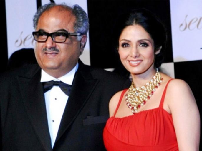 boney kapoor gets emotional while accepting anr award | श्रीदेवी को मिला एएनआर अवॉर्ड, भावुक हुए बोनी