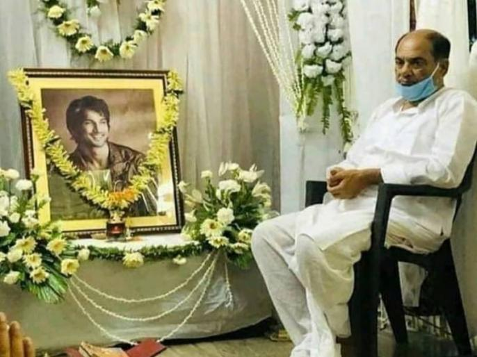 अभिनेता सुशांत सिंह राजपूत के पिता केके सिंह (फाइल फोटो)