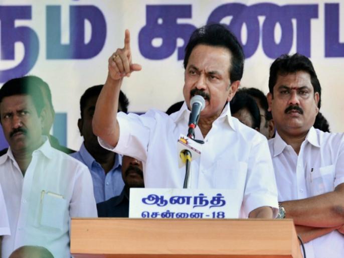 MK Stalin sworn in as Chief Minister of Tamil Nadu | एमके स्टालिन ने तमिलनाडु के मुख्यमंत्री के तौर पर शपथ ली, पहली बार बने सीएम