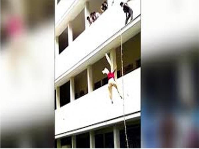 disaster management: girl falls from 2nd floor during a mock drill in karnataka | आपदा प्रबंधनः फेक ट्रेनर ने मॉक ड्रिल के दौरान छात्रा को धक्का मार नीचे गिराया, हुई मौत