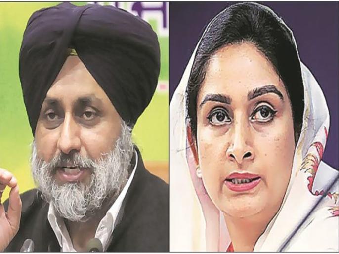 Sukhbir Singh Badal will contest from Ferozepur and Harsimrat Kaur Badal will contest from Bathinda | SAD अध्यक्ष सुखबीर सिंह बादल फिरोजपुर से लड़ेंगे चुनाव, हरसिमरत कौर बठिंडा से मैदान में