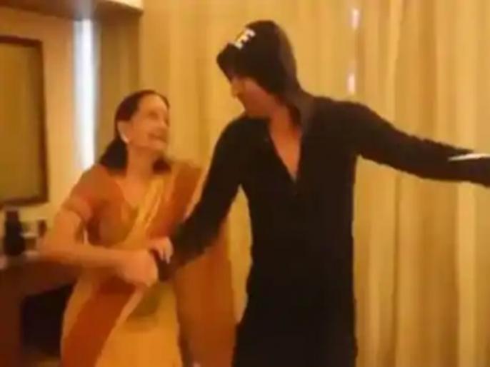 Sushant Singh Rajput Happily Dancing With Veteran Dancer Subbalakshmi On Dil Bechara Sets | फिल्म 'दिल बेचारा' को लेकर काफी एक्साइटेड थे सुशांत सिंह राजपूत, शूटिंग के दौरान का मस्ती भरा वीडियो आया सामने