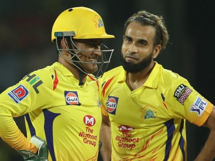 IPL 2019: Imran Tahir credits MS Dhoni for his match winning performance against Kolkata Knight Riders | IPL 2019: चेन्नई की जीत के हीरो इमरान ताहिर ने खोला राज, बताया कैसे धोनी ने की 4 विकेट झटकने में 'मदद'
