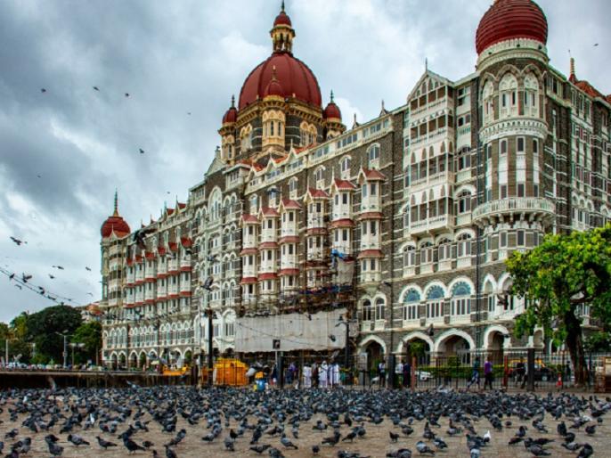 Mumbai: Taj hotel receives bomb threat call from Pakistan; security tightened | मुंबई के ताज होटल को उड़ाने की धमकी, पाकिस्तान से किया गया फोन, शहर में बढ़ाई गई सुरक्षा