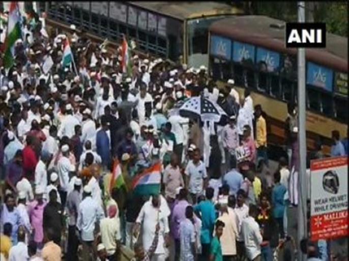 CAA-NRC-NPR: Tamil Nadu People march towards State Secretariat to protest | तमिलनाडु: CAA-NRC और NPR के खिलाफ सचिवालय की ओर बढ़ा लोगों का हुजूम, मौके पर भारी पुलिस बल तैनात