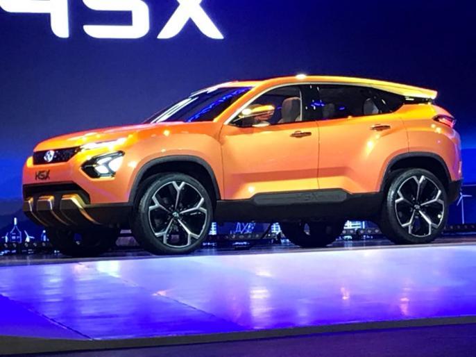 Auto Expo 2018: tata H5X SUV concept unveiled, see features   Auto Expo 2018: SUV कार की रेंज में TATA ने पेश की H5x, देखें फीचर्स