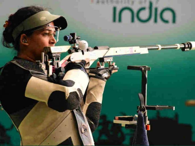 Tejaswini Sawant wins Tokyo Olympic quota at Asian Shooting Championships | एशियाई चैंपियनशिप: निशानेबाज तेजस्विनी सावंत ने भारत को दिलाया 12वां ओलंपिक कोटा, पदक से चूकीं