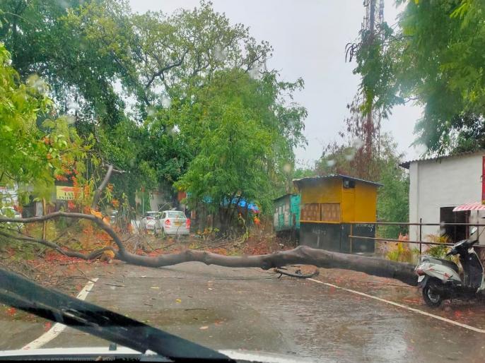 No major impact in Gujarat after ''Nisarga'' makes landfall in Maharashtra   चक्रवात निसर्ग का खतरा: गुजरात में 63700 लोगों को सुरक्षित स्थान पर पहुंचाया गया, NDRF की 18 टीमें तैनात