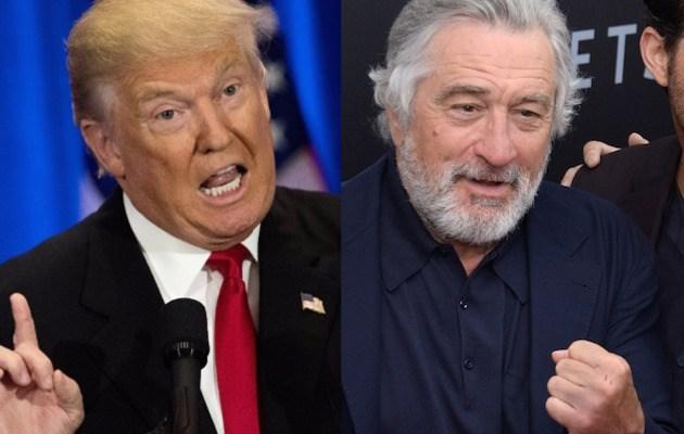 Robert di nero slams donald trump | हॉलीवुड अभिनेता रॉबर्ट डी नीरो ने डोनाल्ड ट्रंप को बताया नस्लवादी और श्वेत वर्चस्ववादी इंसान