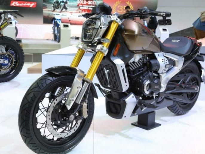220cc TVS Zeppelin cruiser motorcycle to launch in 2020 | बजाज एवेंजर और सुजुकी को टक्कर देने आ रही है TVS की Zeppelin क्रूजर बाइक