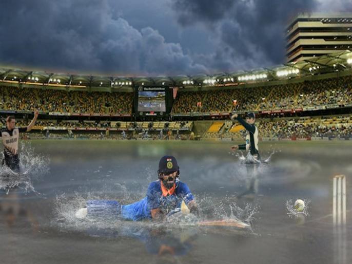 Ind vs NZ, World Cup: India won the toss and decided to Swim first, Social Media reaction after rain in Nottingham   Ind vs NZ: भारत ने टॉस जीतकर किया स्वीमिंग का फैसला, सोशल मीडिया पर लोगों ने ऐसे लिए मजे