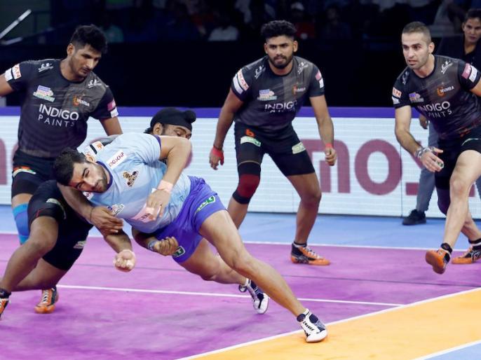 Pro Kabaddi League 2019: U Mumba beat Tamil Thalaivas by 29-24 | PKL 2019: तमिल थलाइवाज को घरेलू लेग में नसीब नहीं हुई एक भी जीत, आखिरी मैच में यू मुंबा ने 29-24 से हराया