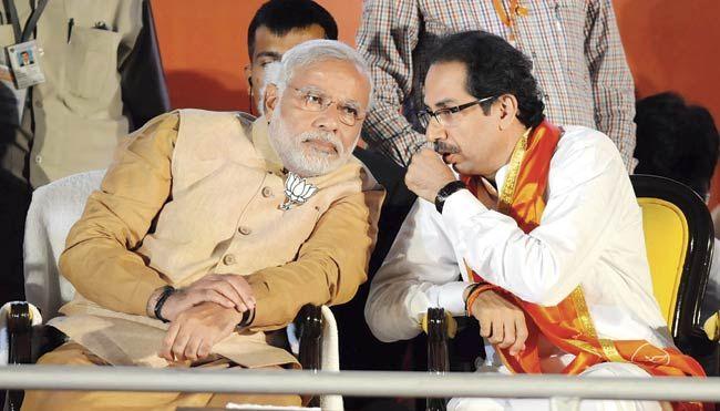 Shiv Sena hits out at BJP, says NDA not property of one party | NDA से निकाले जाने पर BJP पर भड़की शिवसेना, कहा-हमें निकालने वाले तुम कौन? जनसंघ के दीये में तेल डाला है