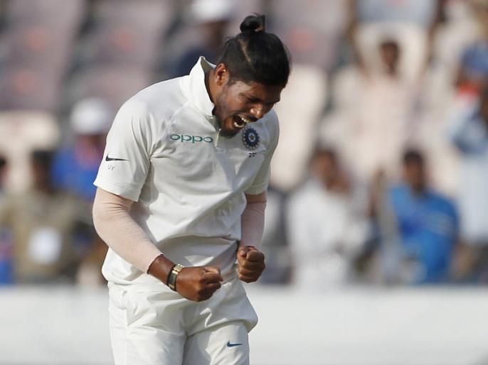 Ind vs Win, 2nd Test: Umesh Yadav pick 6 wicket against Windies in 2nd Test match | Ind vs Win: उमेश यादव ने की करियर की सर्वश्रेष्ठ गेंदबाजी, विंडीज को 311 रनों पर समेटा