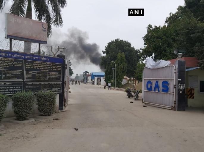 Hindustan Petroleum's tank valve leaked and Blast in Unnao, news update in Hindi | उन्नावः हिंदुस्तान पेट्रोलियम के प्लांट में गैस रिसाव के बाद धमाका, खाली कराया जा रहा आस-पास का इलाका