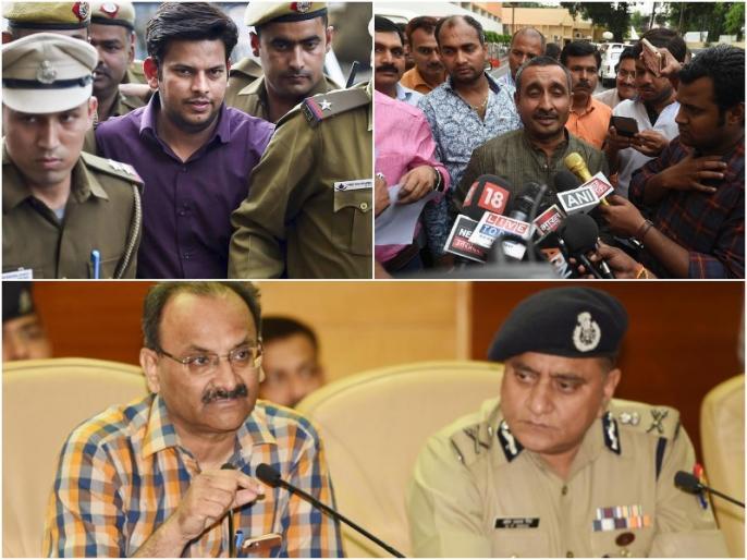 Unnao Gangrape: Delhi MLA arrest in slap case, accused of rape in UP is 'honorable'! | गैंगरेप के आरोपी बीजेपी विधायक FIR के बाद भी 'आजाद', AAP विधायक थप्पड़ मारने पर हुए गिरफ्तार
