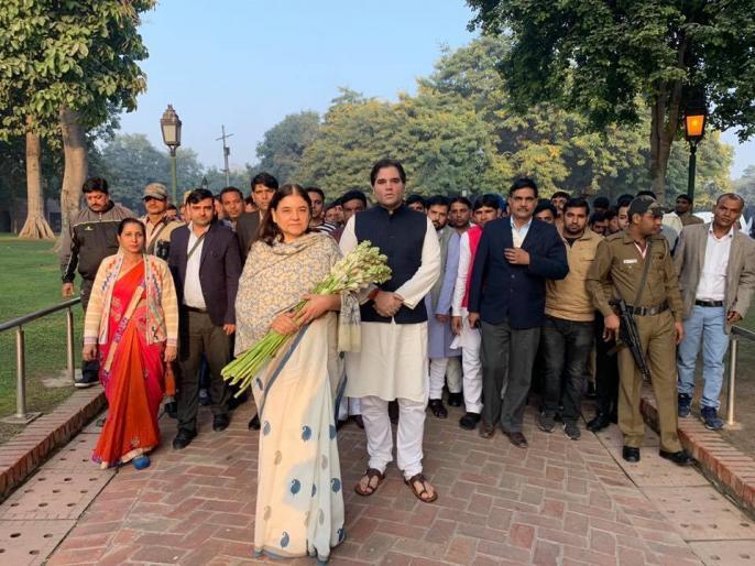 why varun gandhi exchange seats with mother Maneka Gandhi Pilibhit Sultanpur lok sabha election 2019 | जानिए बेटे वरुण गांधी और मां मेनका गांधी ने क्यों की सीटों की अदला-बदली?