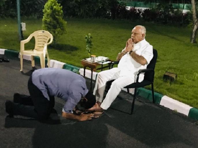 Yediyurappa son Vijayendra appointed as Karnataka BJP VP | बीएस येदियुरप्पा के बेटे विजयेंद्र कर्नाटक भाजपा का उपाध्यक्ष नियुक्त हुए
