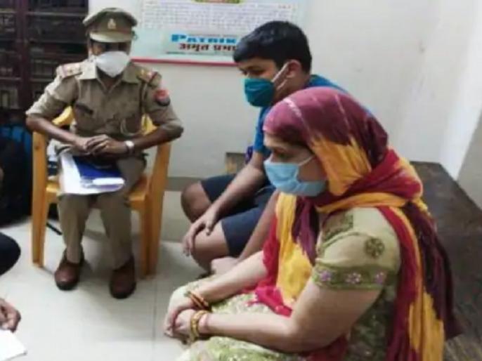 Vikas Dubey's wife, son and maid reach PAC in Lucknow, Bikaru | विकास दुबे की पत्नी, बेटा और नौकरानी पहुंचे लखनऊ, हिस्ट्रीशीटर के गांव बिकरु में PAC तैनात