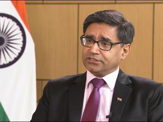 Only way to resolve ilitary standoff along LAC is for China to stop erecting new structures, says Indian envoy to China Vikram Misri | चीन में भारत के राजदूत विक्रम मिस्त्री ने कहा- गलवान घाटी पर चीन की सम्प्रभुता का दावा 'टिकने योग्य' नहीं