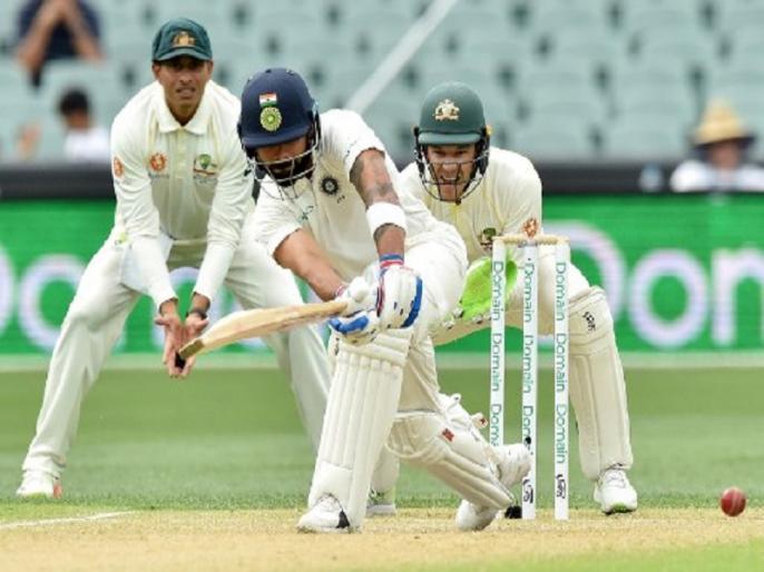 Virat Kohli becomes fourth Indian batsman to score 1000 Test runs in Australia | Ind vs AUS: ऐडिलेड टेस्ट में विराट कोहली का कमाल, ऑस्ट्रेलिया में 1000 टेस्ट रन पूरे कर रचा इतिहास