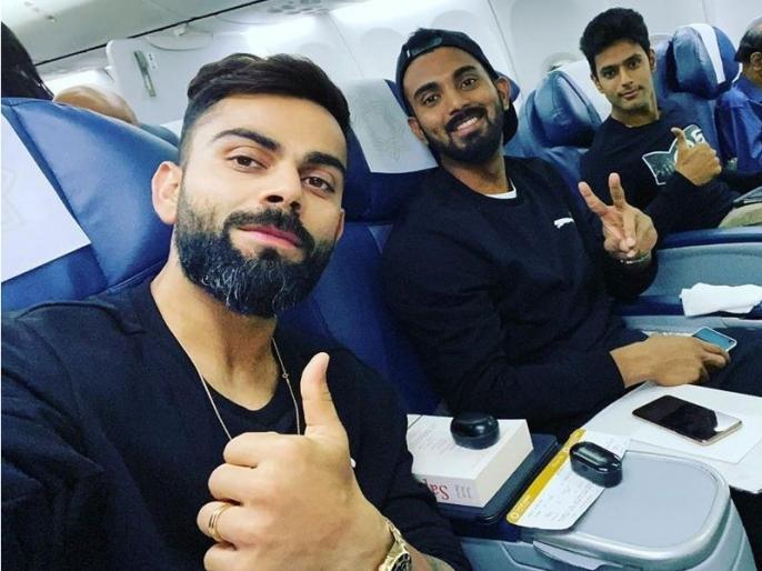 India vs West Indies:Virat Kohli share pic with KL Rahul and Shivam Dubey ahead of T20 Series against West Indies | वेस्टइंडीज के खिलाफ टी20 सीरीज से पहले इस मूड में नजर आए कोहली, सोशल मीडिया पर शेयर की फोटो