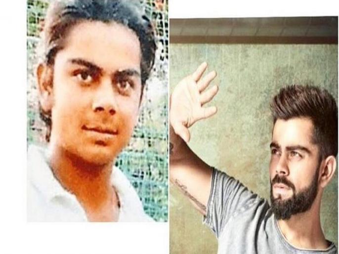 16-year-old Virat Kohli pic goes viral, as Indian captain share his throwback picture | 16 साल के विराट कोहली की तस्वीर हुई वायरल, आपने देखी क्या!