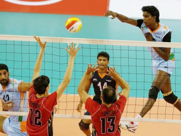 Asian Games 2018: Indian Men Volleyball Team will aim to win medal after 32 years | Asian Games: भारतीय वॉलीबॉल टीम ने अब तक नहीं जीता गोल्ड, आखिरी बार 32 साल पहले जीता था ब्रॉन्ज