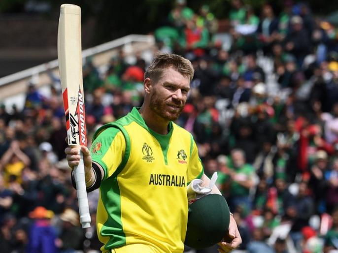 ICC World Cup 2019, Aus vs Ban: David Warner becomes first batsman to register two 150-plus scores in World Cup history   Aus vs Ban: डेविड वॉर्नर ने वर्ल्ड कप में रचा इतिहास, ये कारनामा करने वाले बने पहले खिलाड़ी