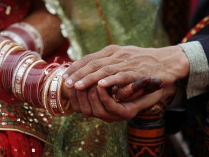 Unique wedding of Indian groom and Nepalese groom, married and returned home with wife in just 15 minutes | भारतीय दूल्हा और नेपाली दूल्हन की शादी, महज 15 मिनट मेंविवाह करपत्नी संगलौटा घर, जवानोंने दी शुभकामनाएं