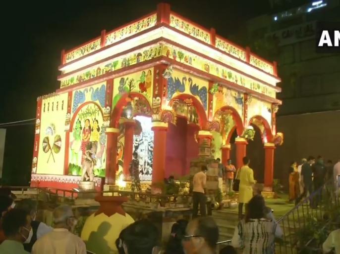West BengalPM Modi's'Pujour Shubhechha' program 294 assembly78,000 polling stations broadcast | पश्चिम बंगालः 'पूजोर शुभेच्छा' कार्यक्रम का प्रसारण, 294 विधानसभा,78,000 मतदान केंद्र जुड़ेंगे,पीएम मोदीसंदेश देंगे