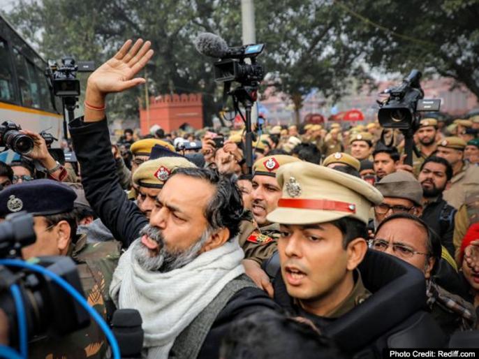 Yogendra Yadav targete Modi government at the CAA, saying- PM only sees 'white cap' and 'hijab', not the national flag in the hands of millions | CAA पर योगेंद्र यादव ने मोदी सरकार पर साधा निशाना, कहा- PM को केवल 'सफेद टोपी' और 'हिजाब' दिखाई देता है, लाखों लोगों के हाथों में राष्ट्रीय ध्वज नहीं