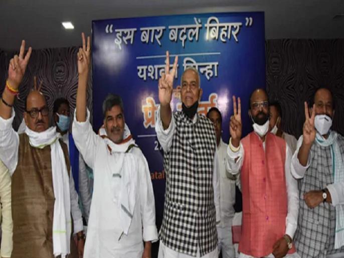 yashwant sinha take entry in bihar politics targeted nitish kumar | यशवंत सिन्हा की बिहार के रास्ते राजनीति में एक बार फिर एंट्री, नीतीश कुमार पर जमकर निशाना साधा