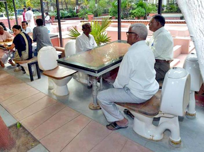 Nature's Toilet Cafe, Ahmedabad  