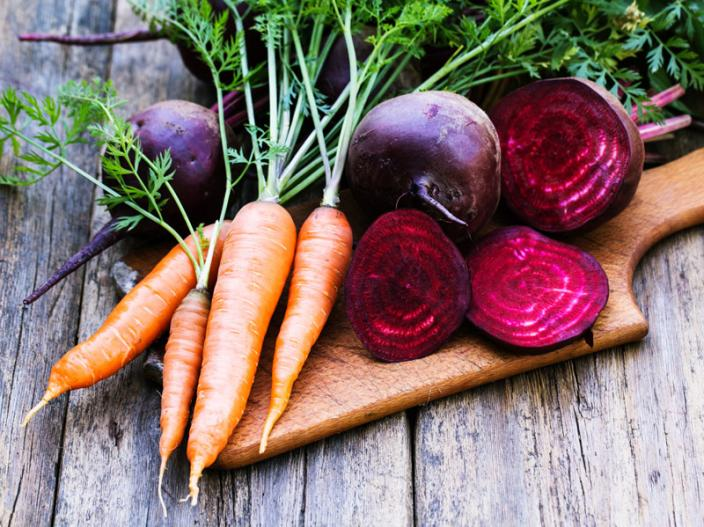 Carrots and beets |
