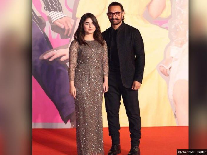 aamir khan and zaira wasim |