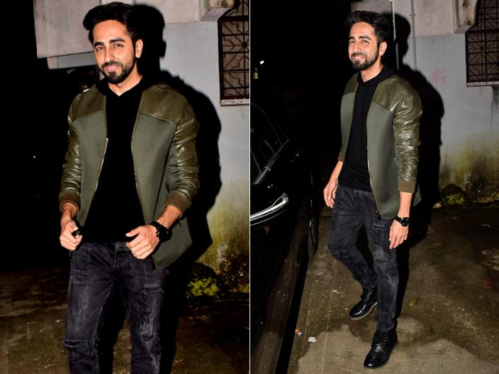 In Photos: Thugs of Hindostan Actor Aamir Khan and Andhadhun actor Ayushmann Khurrana Spotted In bandra |