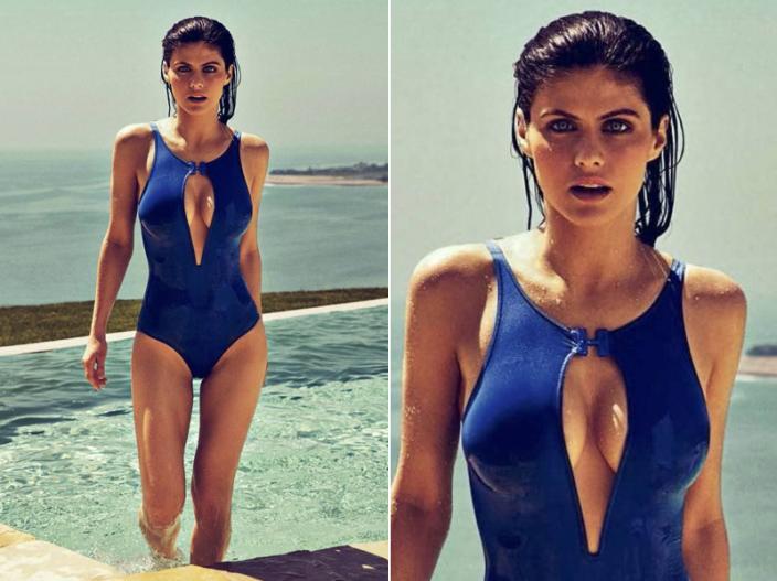 See Alexandra Daddario hot, sexy, bold and sensational pics, photos, images |