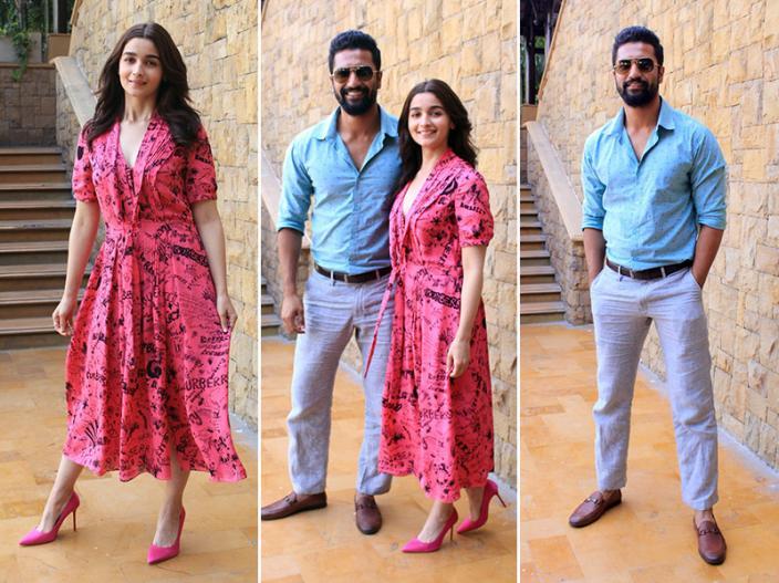 Alia Bhatt and Vicky Kaushal  