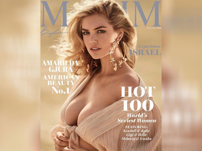 American hot and sexy Model AMARILDA GJURA goes bold for Maxim Magazine photoshoot |