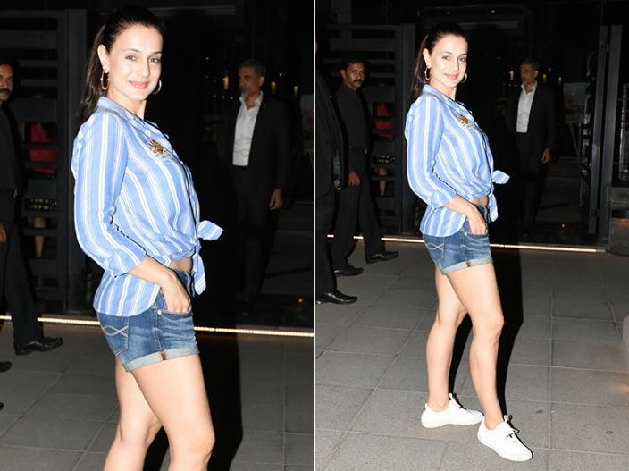 Hot Photos: Ameesha Patel spotted at yauatcha BKC at bandra in Mumbai |