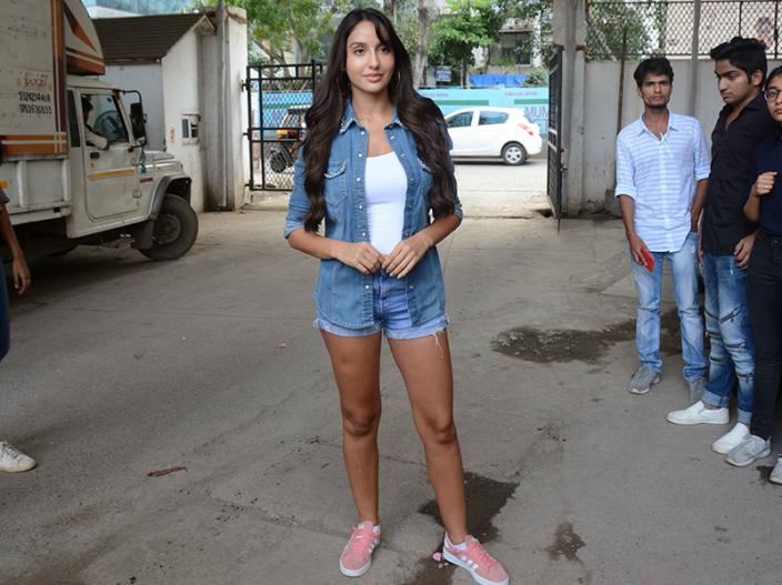 Photos: Race 3 Actor Anil Kapoor and Dilbar Girl Nora Fatehi at a social event with NBT at vile Parle Mumbai |