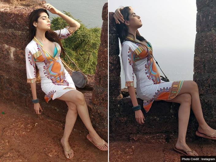 Kundali Bhagya Actress Anjum Fakih Share Her Bold And Sensuous Bikini Photos On Instagram, View Pics | कुंडली भाग्य की इस एक्ट्रेस ने इंस्टाग्राम पर शेयर की बोल्ड Pics | Lokmat News Hindi