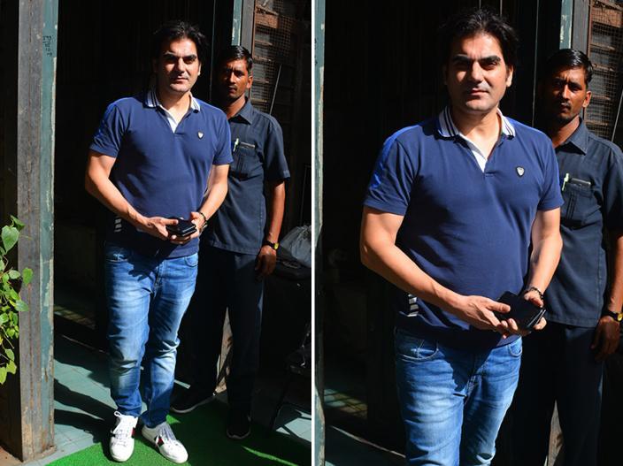 हाल ही में अरबाज खान अपनी गर्लफ्रेंड जॉर्जिया एंड्रियानी के साथ नजर आएं हैं।   हाल ही में अरबाज खान अपनी गर्लफ्रेंड जॉर्जिया एंड्रियानी के साथ नजर आएं हैं।