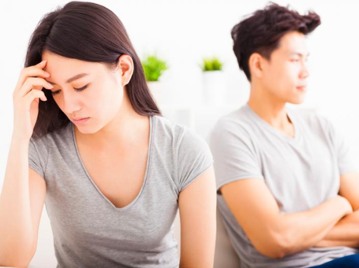 fighting with your girlfriend |