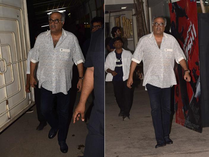 Bhavesh Joshi Superhero Screening Pics: janhvi kapoor to Nawazuddin Siddiqui attent the event |