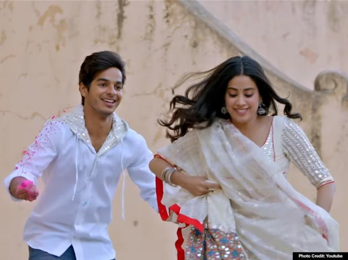 Dhadak Romantic Title Song Released: Janhvi kapoor and Ishaan khattar love chemistry ignites fire on internet |