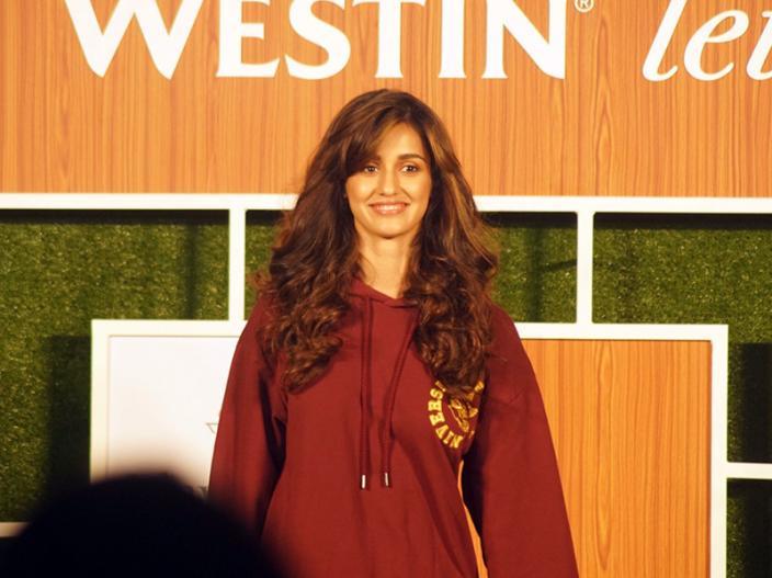 Disha Patani New Event look spot at goregaon in mumbai  